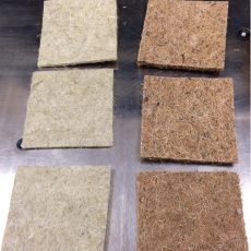 Water Retention Capabilities of Microgreen Mats hemp and coco coir